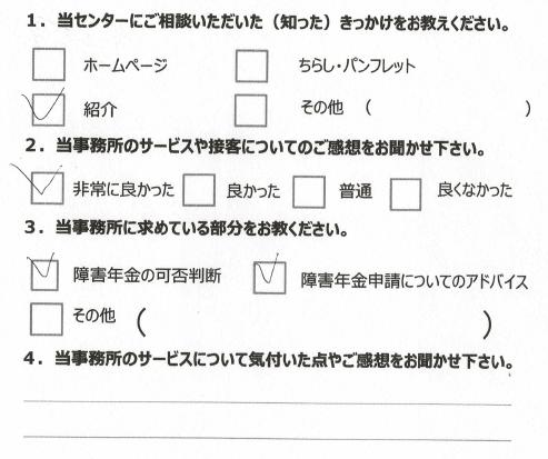 アンケート発達障害川崎市20代男性2