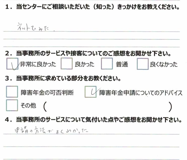 1年5月 川崎 発達障害 20代男性