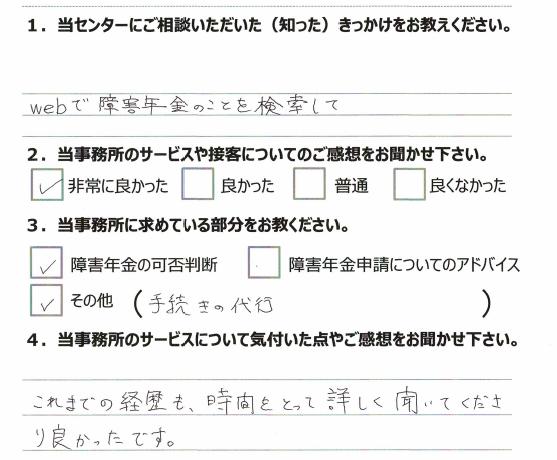 アンケート 20代 女性 川崎 発達障害